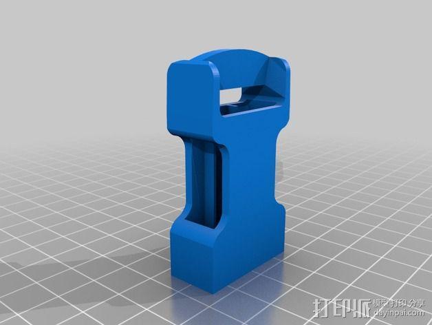 皮带卡扣 3D模型  图3