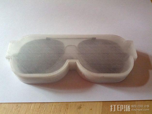透明眼镜盒 3D模型  图4