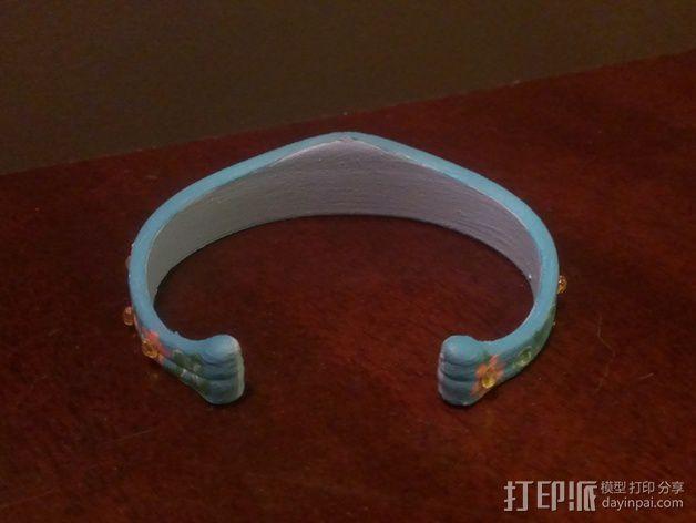 皇冠形手镯 3D模型  图6