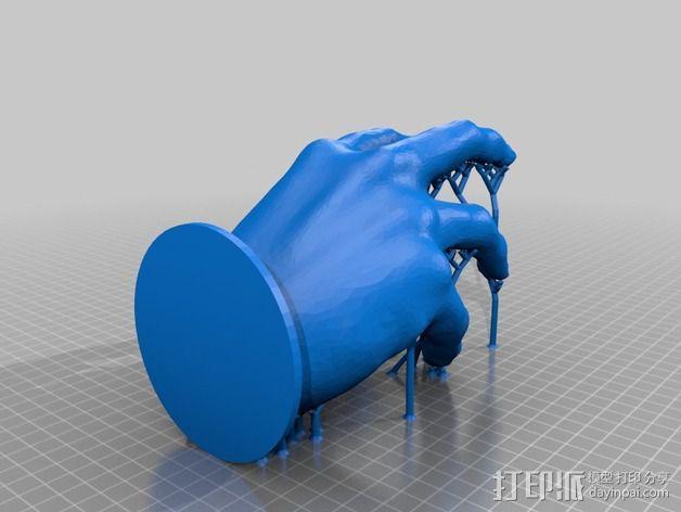 僵尸的手 3D模型  图2