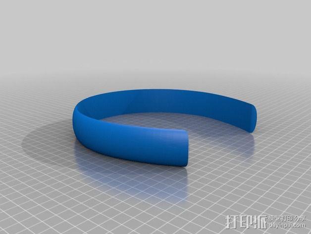 发箍 3D模型  图2