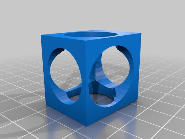 复古正方体手镯 3D模型  图1