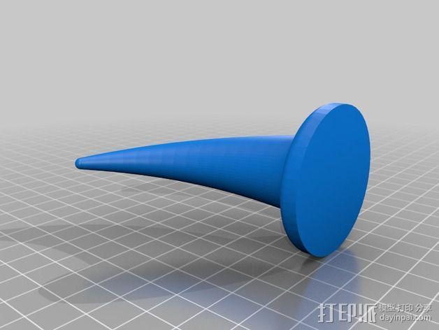 角 3D模型  图2