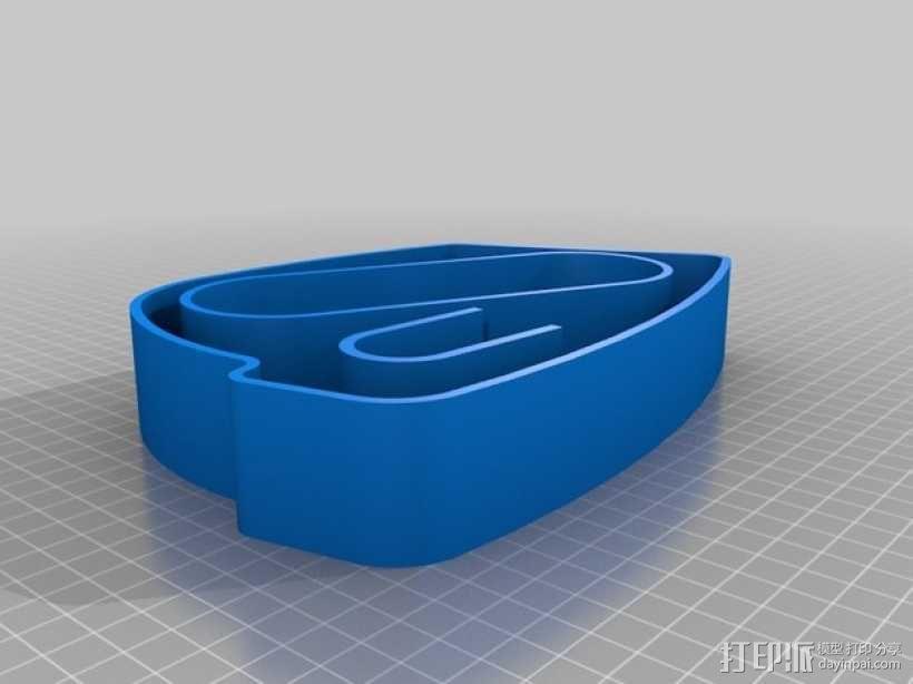 谷歌眼镜眼镜盒 3D模型  图5