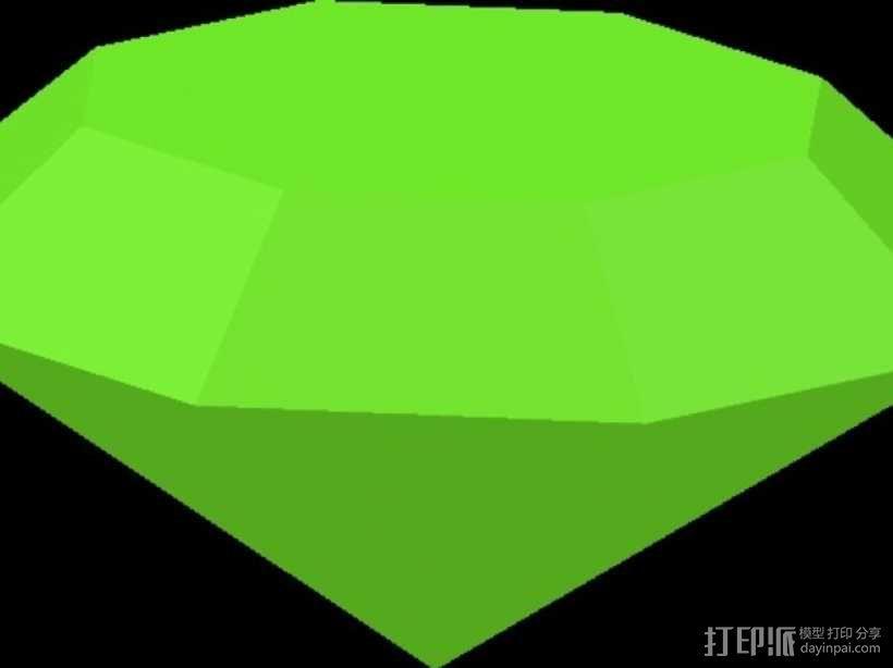 宝石戒指 3D模型  图4