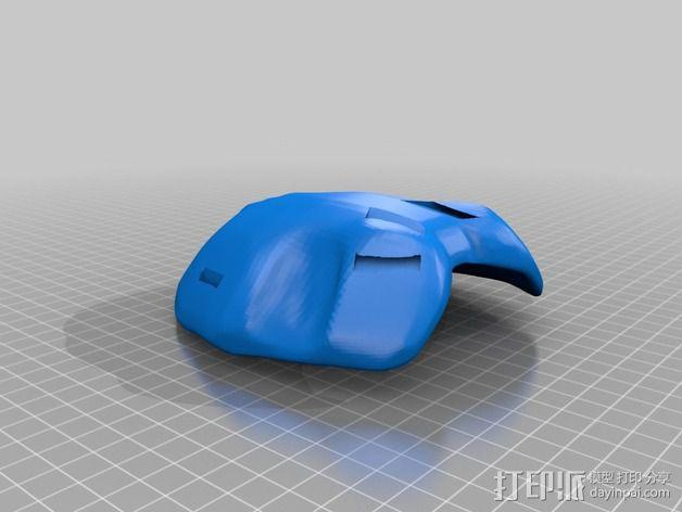 Payday 2收获日 游戏面具 3D模型  图9