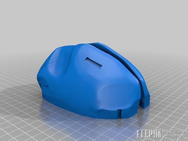 Payday 2收获日 游戏面具 3D模型  图10