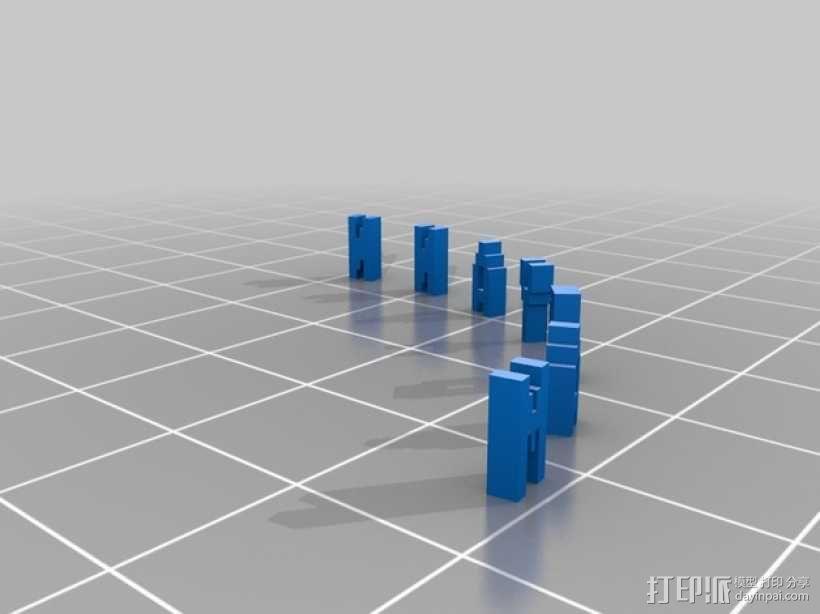 弹性手镯 3D模型  图3