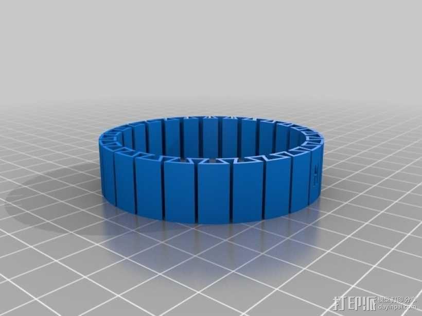 弹性手镯 3D模型  图4