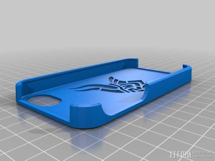 维京人 Iphone 4 手机套 3D模型  图1