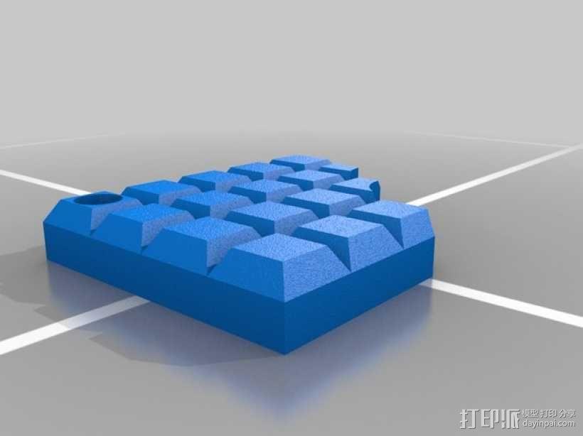 巧克力挂件 3D模型  图2