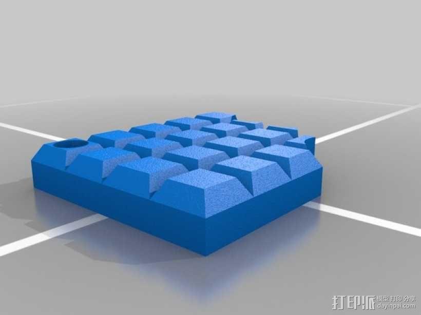 巧克力挂件 3D模型  图3