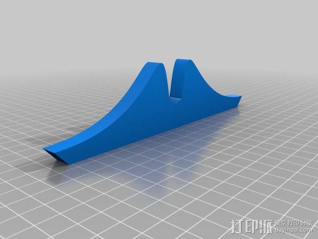 小胡子 3D模型  图3