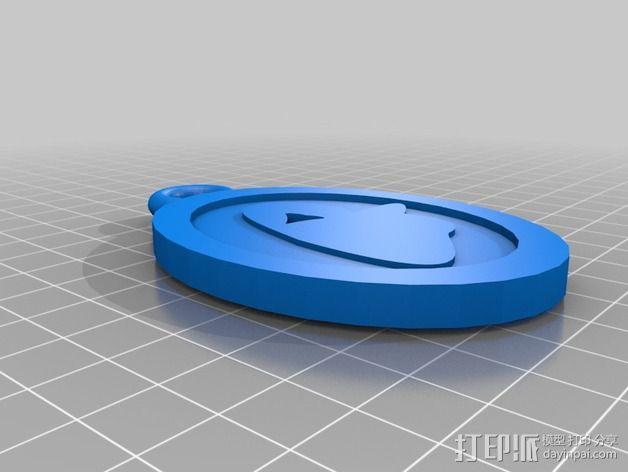 幽灵 挂件 3D模型  图3