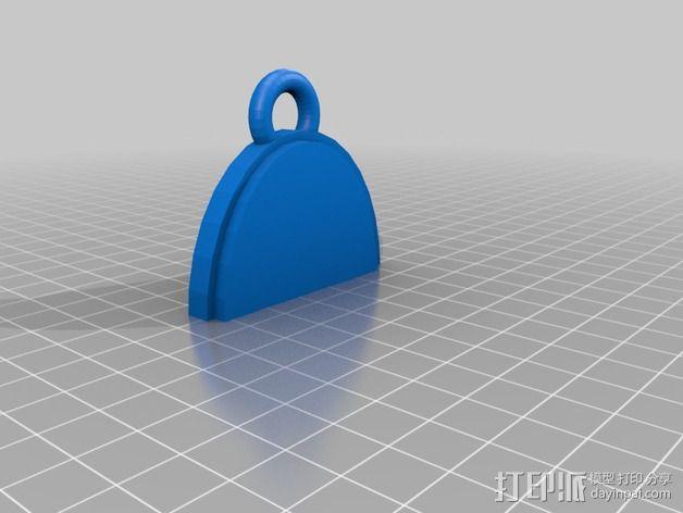 幽灵 挂件 3D模型  图2