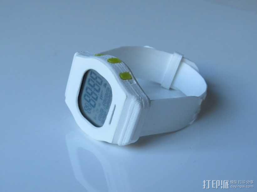 智能运动手表 3D模型  图4