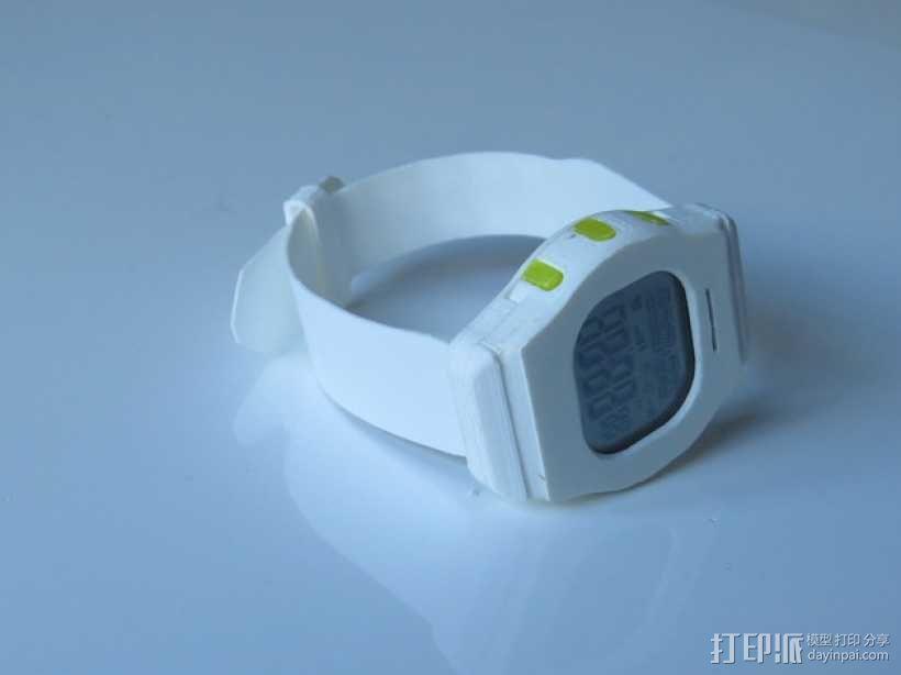智能运动手表 3D模型  图6