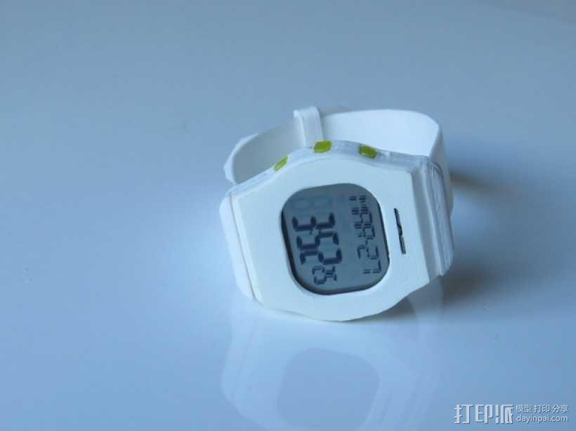 智能运动手表 3D模型  图5
