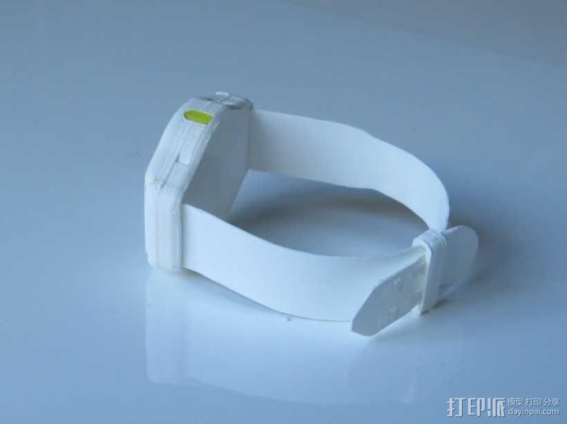 智能运动手表 3D模型  图3