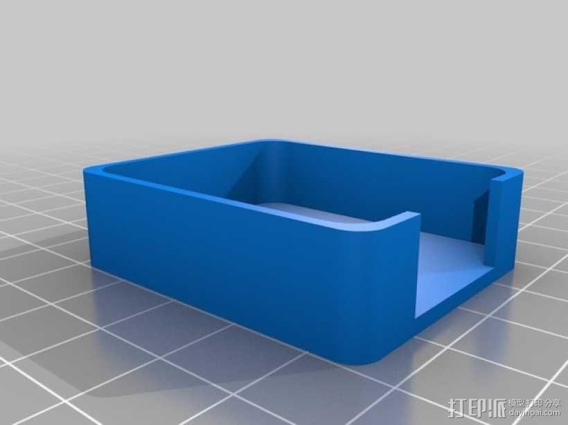 汽车钥匙保护壳 3D模型  图2