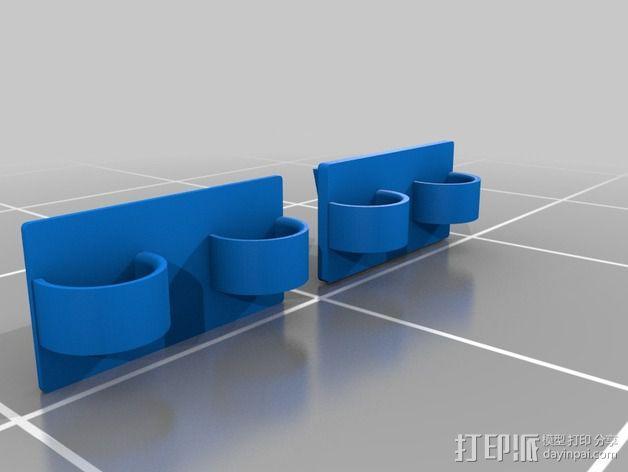 Eshays指节套环 3D模型  图3