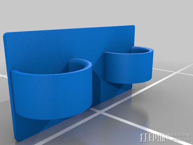Eshays指节套环 3D模型  图2