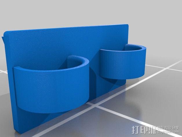 Eshays指节套环 3D模型  图4