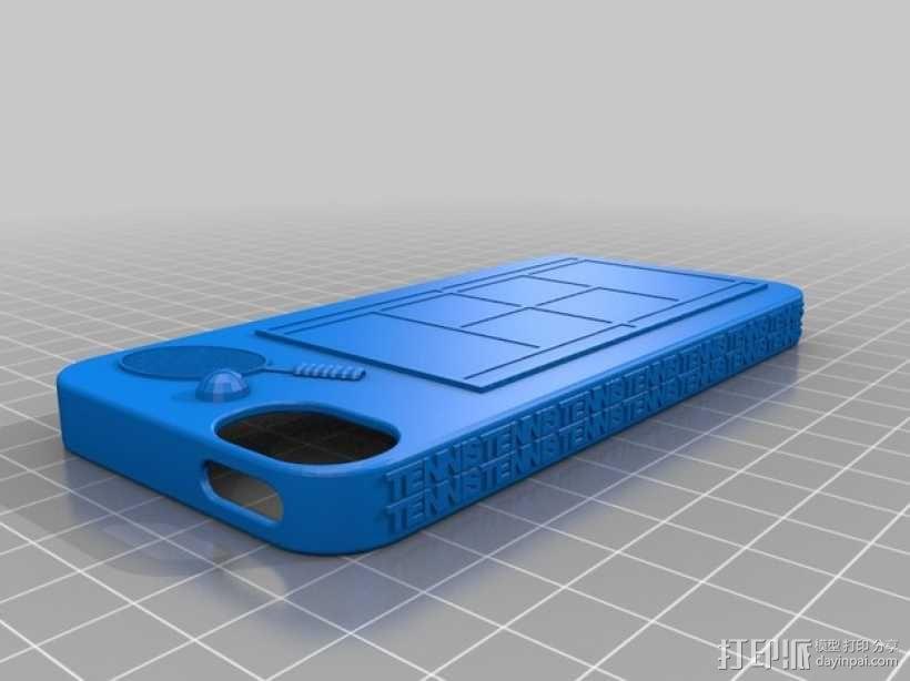 网球 iPhone5手机壳 3D模型  图1