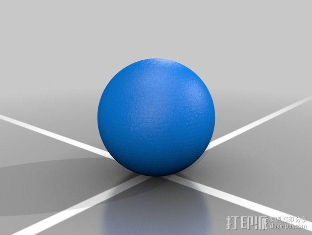破碎球耳坠 3D模型  图5
