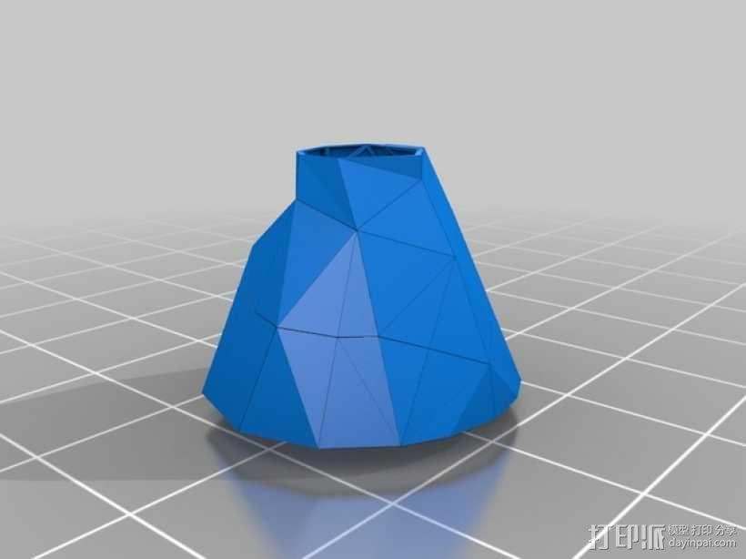 裙子 支座 3D模型  图1
