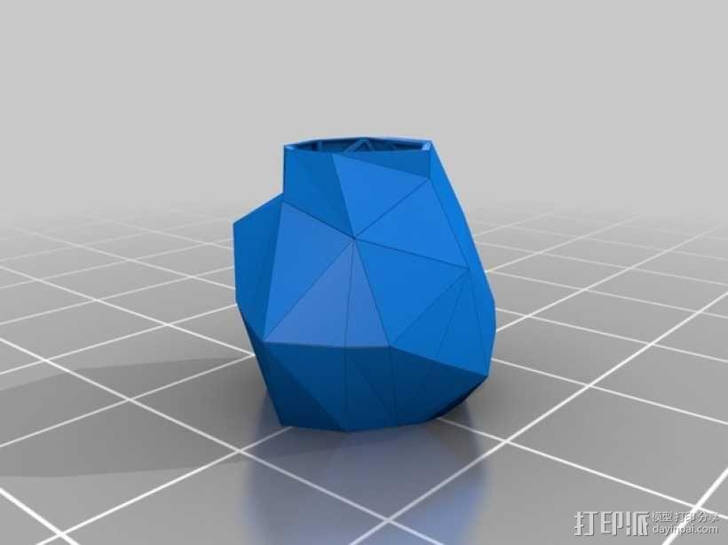 3D打印 泡芙小姐 裙子模型 3D模型  图1