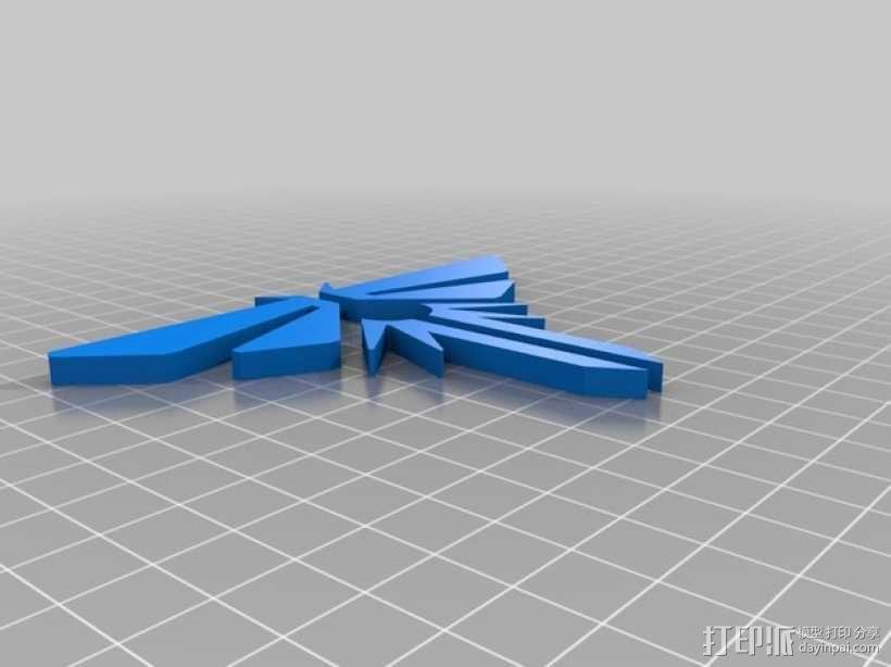 萤火虫 吊坠 3D模型  图2
