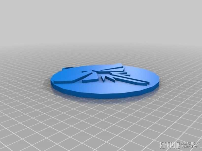 萤火虫 吊坠 3D模型  图1
