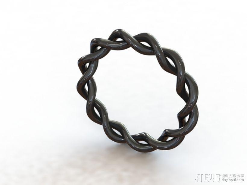 螺旋手镯 3D模型  图1