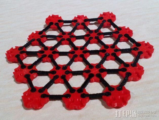 锁子甲 链甲 3D模型  图2