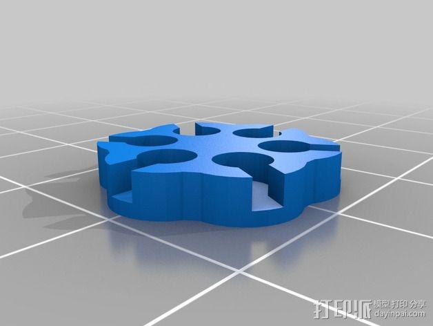 锁子甲 链甲 3D模型  图8