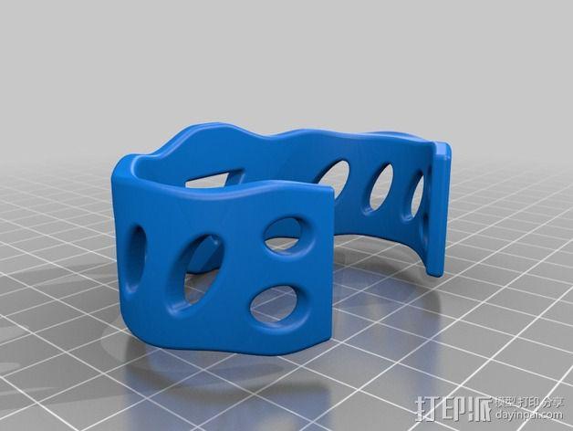 DesignerFreds手镯 3D模型  图2