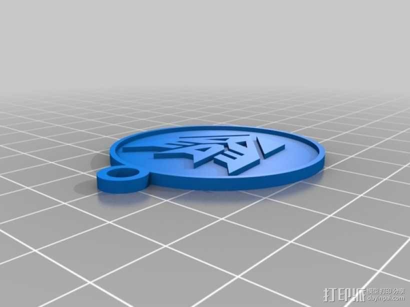 钥匙扣 3D模型  图2