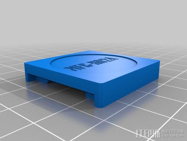 吊牌托架 3D模型  图3