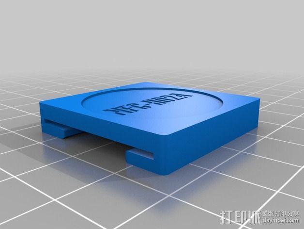 吊牌托架 3D模型  图4