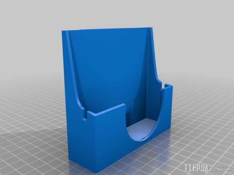 Sony RX100相机套 3D模型  图2