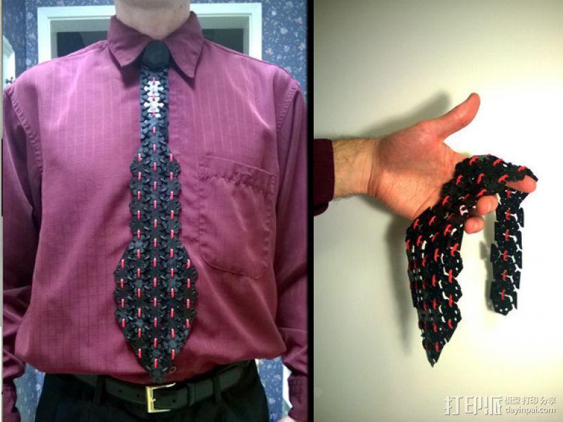 3D打印 领带 3D模型  图1