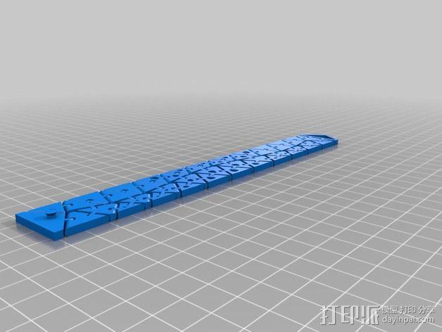 神经系统运动手镯 3D模型  图2
