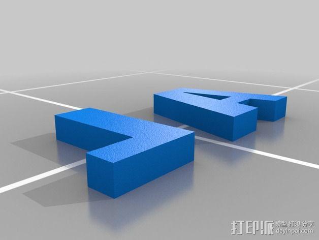 Fit Bit腕带夹 3D模型  图2