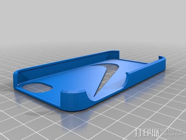 nike耐克Iphone 4/4s手机保护壳 3D模型  图1