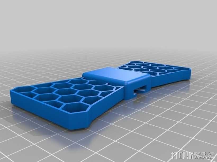 蝴蝶领结 3D模型  图2