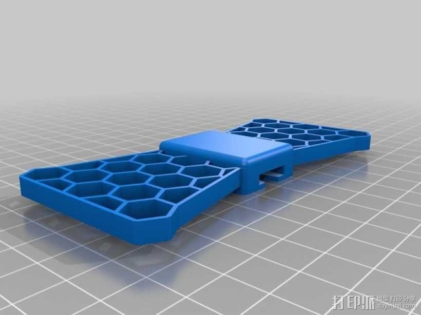 蝴蝶领结 3D模型  图3