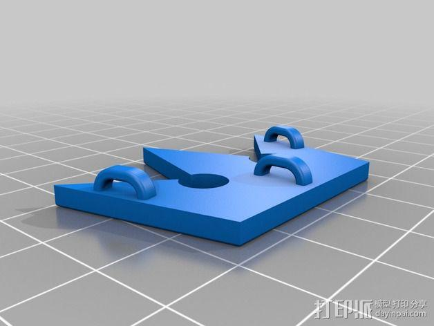王国之心 皇冠项链坠 3D模型  图2