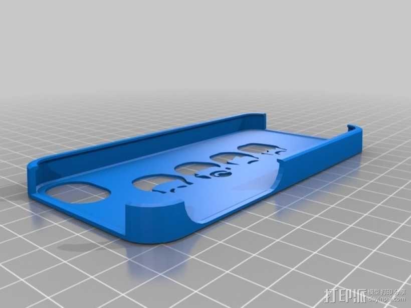 甲壳虫 iPhone手机壳 3D模型  图1