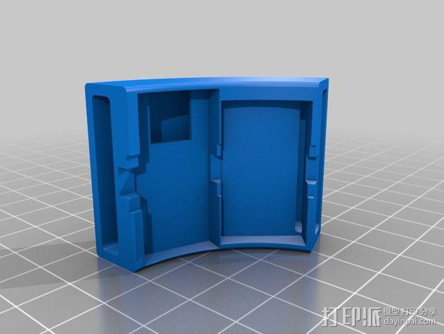 LED发光手镯 3D模型  图3